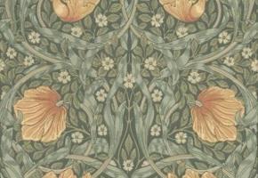 Фото - Обои для стен Morris & Co - 186833>