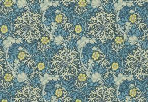 Фото - Обои на стену с цветами синего цвета - 356838>