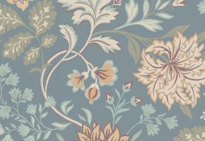 Фото - Обои с цветами в скандинавском стиле - 514175>