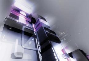 Фото - Обои на стену с узором фиолетового цвета - 127108>