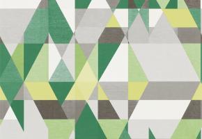 Фото - Обои на стену в стиле прованс зеленого цвета - 215437>