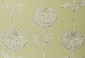 Фото - Обои на стену с цветами салатового цвета - 193707>