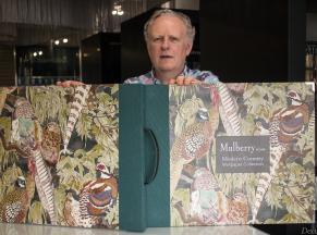 Новая коллекция обоев и тканей от Mulberry Home